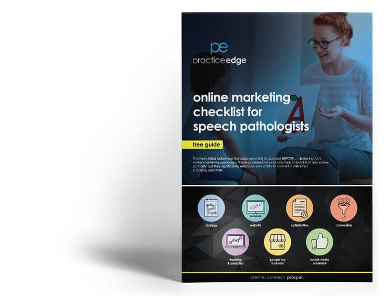 online marketing for Speech Therapists