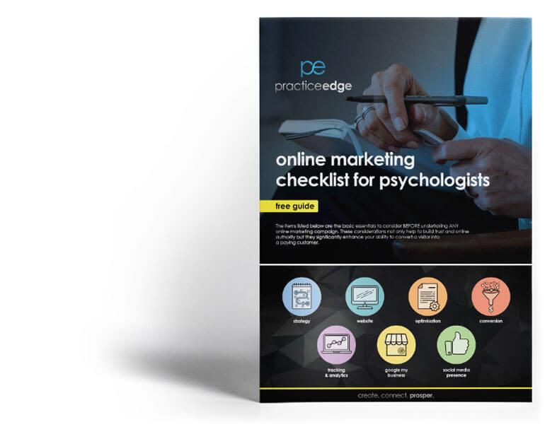 online marketing for psychologists
