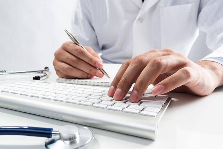website design for healthcare professionals
