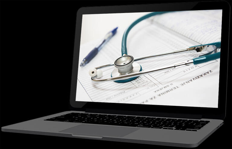 website design for medical specialists